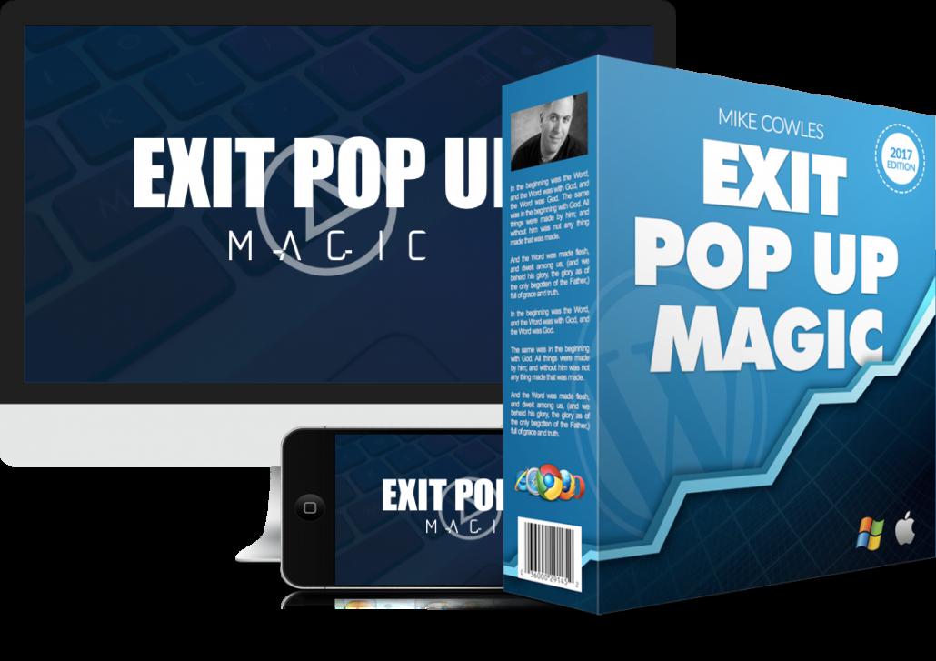 exit pop up magic